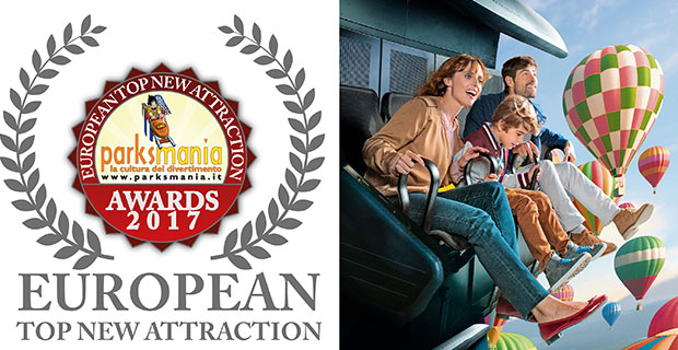 Parksmania Awards : Meilleure attraction 2017 d'Europe